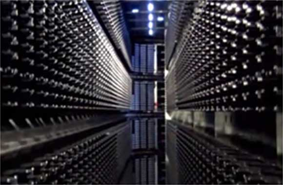 Specialized digital storage facility.