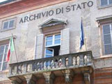 Italian Ancestors: Exterior of Modena State Archive.