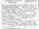 Italian Ancestors: Sample of Italian birth record.