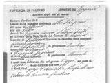 Italian Ancestors: Sample of Italian death record.