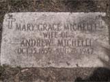 Italian Ancestors: Tombstone of Italian-American immigrant.