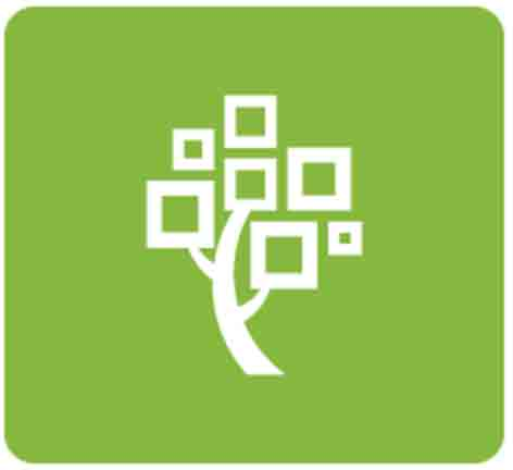 Large FamilySearch logo.