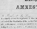 Robert E. Lee Amnesty Oath, 1865