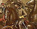 Painting, Battle of Bull Run, where Jackson distinguished himself.