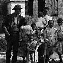Freedmen's Bureau Project - Freed Family on Plantation