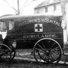 Freedmen's Bureau Project - Freedmen's Ambulance