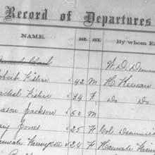 Freedmen's Bureau Project - Register of Sick