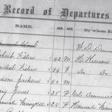 Freedmen's Bureau Project - Register of Sick