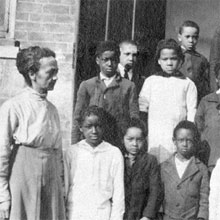 Freedmen's Bureau Project - School Students