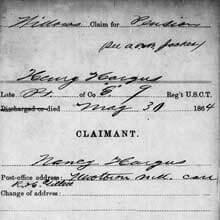 Freedmen's Bureau Project - Widow's Pension Claim