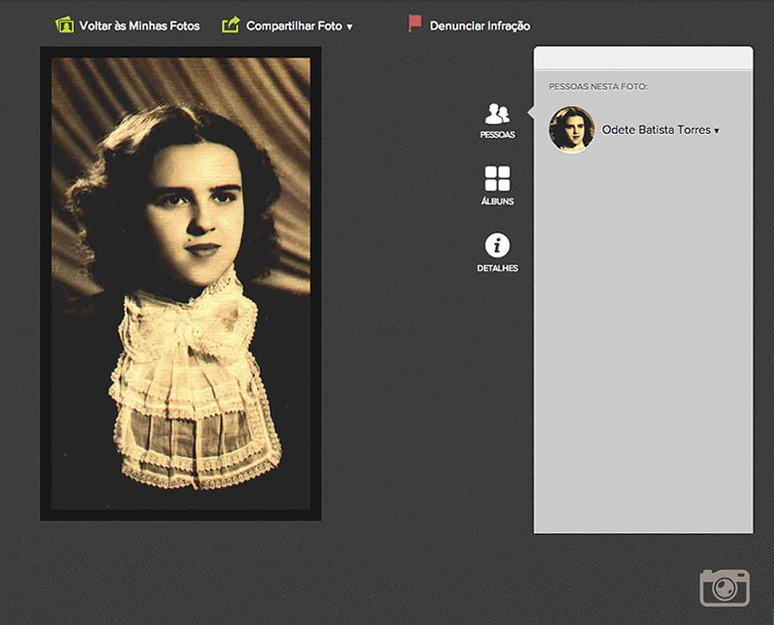 Recurso de Fotos e Histórias do FamilySearch